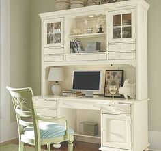 love, love, love the brilliant home office for little space.  how about a brilliant slipper chair?