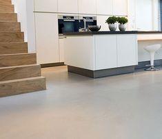 Afbeeldingsresultaat voor Keukens beton vloer