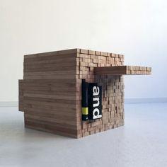 Pixel Table by Studio Intussen