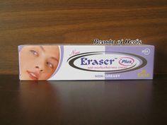 Eraser Plus Anti Marks Non Greasy Cream Hyper Pigmentation Natural ECL 3x25g | eBay
