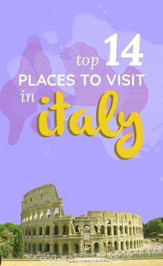 Are you planning a visit Italy soon? Why not check this guide to Italy where you'll learn where to go in Italy, what to see in Italy, places to visit in Italy, attractions in Italy, what to eat in Italy, things to do in Italy and places in Italy you can have an awesome Italy vacation. In this Italy travel guide you'll learn a lot about the cities in Italy and as well amazing Italy travel tips. Read this post or pin it for later read! #Italy #Europe #ItalyTravel #ItalyVacation
