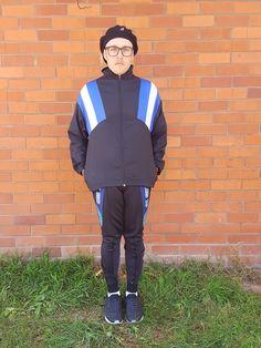 45c07040f8d6d 80s Colour Block Spray Jacket   Shell Jacket   Color Block   Sports  Windbreaker   Vintage