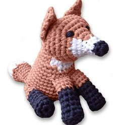 Fox Crochet Pattern #CrochetPattern #Fox