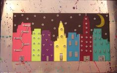 City of Neon and Crome. Acrylic and hardware
