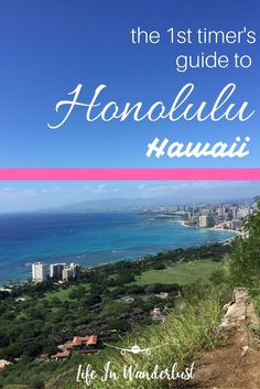 Top activities in Honolulu Hawaii! Hiking, food, beaches and more!