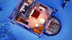 ★★★★ Kakslauttanen Arctic Resort - Igloos and Chalets, Saariselka, Finlanda Honeymoon Spots, Romantic Honeymoon, Honeymoon Destinations, Northern Lights Holidays, See The Northern Lights, Glass Igloo Northern Lights, Igloo House, Glass Cabin, Finland Travel