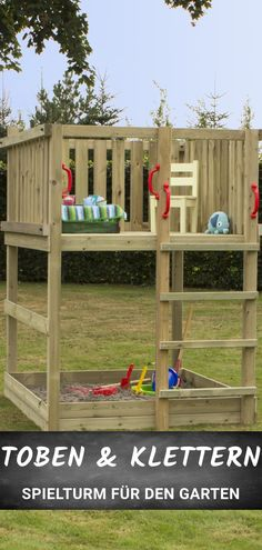 Play Spielturm 1 Play tower for your garden! So that children can run around and play. Indoor Garden, Indoor Plants, Hydrangea Care, Sand Pit, Patio Makeover, Backyard Playground, Hydroponic Gardening, Garden Soil, Small Gardens