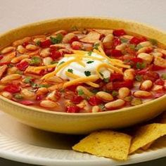 Chili's Bar and Grill Copycat Recipes: Southwest Chicken Chili