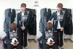 Bad Kookie XD #Kookie #SUGA #BangtanBoys #Kpop #Cute #Cuties #1st&5thBias