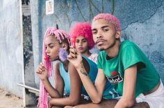 "FEATURE: Salvador, Brazil-based photographer Éverton Carvalho captures playful series ""3 Types of Pink"" – #AFROPUNK"