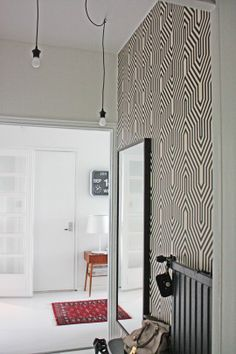 papier peint labyrinth,effet tridimensionnel