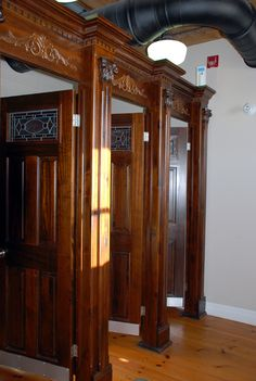 Bathroom Stalls With Doors bathroom stall, salvaged doors. | gatherings | pinterest