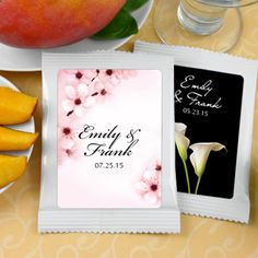 Mango Margarita Favors: Flower Designs
