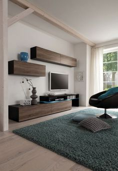 Amsterdam Combination-11199 Modern Wall Unit by Creative Furniture