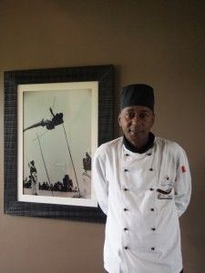 Click through for a pineapple & beetroot salad from Chef Tonny at Nuyngwe Forest Lodge in Rwanda - yum!