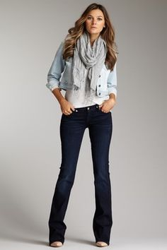 7 For All Mankind The Skinny Coated Jean on HauteLook