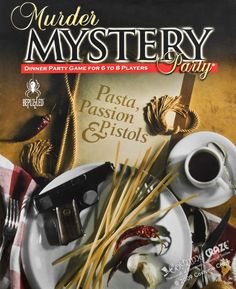 Invite and Delight: October 2012 Murder Mystery Dinner Night with menu and link for cheap dinner kit
