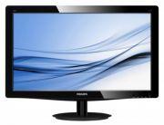 PHILIPS 206V3LSB 20 İNÇ LED 1600x900  Görüntü/Ekran  •LCD panel tipi: TFT-LCD  •Arka aydınlatma tipi: W-LED sistemi  •Panel Boyutu: 20 inç / 50,8 cm  •Etkin izleme alanı: 462,8 (Y) x 272,0 (D)  •En-boy oranı: 16:9  •Optimum çözünürlük: 60 Hz'de 1600 x 900  •Tepki süresi (tipik): 5 ms  •Parlaklık: 250 cd/m²  •SmartContrast: 10.000.000:1  •Kontrast oranı (tipik): 1000:1  •Piksel aralığı: 0,277 x 0,277 mm  •İzleme açısı: 170º (Y) / 160º (D), C/R > 10 ise