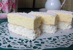 Prajitura cu blat de cocos si crema de lamaie Minion, Vanilla Cake, Coco, Caramel, Food And Drink, Nasa, Chistes, Apple Cakes, Kitchens