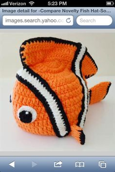 Fish hat nemo