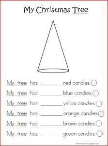 Christmas Tree Math Printable