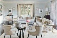 light colored living room - Linda Holt Interiors -