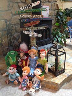 "Peter Pan baby nursery - from ""Adventures in Neverland"""