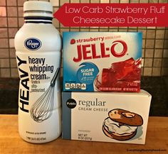 Recipe: Low-Carb Strawberry Fluff Cheesecake Dessert I've been on a low-carb diet for almost a month now. I'm staying under of net carbs a day and I've actually been doing rea… Indulgent Keto Diet Friendly Dessert Recipes Keto Desserts, Brownie Desserts, Keto Snacks, Atkins Desserts, Carb Free Desserts, No Carb Snacks, Keto Friendly Desserts, Keto Sweet Snacks, Stevia Desserts