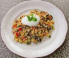 Bunter Couscous - Salat, ein sehr schönes Rezept aus der Kategorie Gemüse. Bewertungen: 16. Durchschnitt: Ø 3,9.