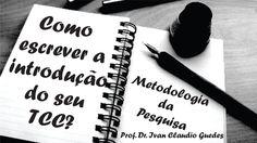 Introdução do TCC Trabalho de Conclusão de Curso TCC Monografia Redação ...