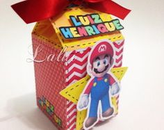 Super Mario - Caixa Milk Scrap