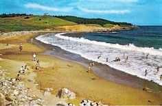 Pack a cooler with snacks and cold drinks and head on over to Kennington Cove Beach in Cape Breton! Inverness Nova Scotia, Atlantic Canada, Cape Breton, Green Fields, Cold Drinks, Beautiful Homes, Natural Beauty, How To Memorize Things, Hearts
