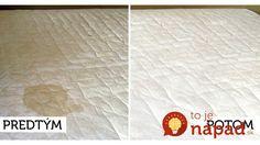 Ako vyčistiť matrace účinne, rýchlo a jednoducho? Vyrobte si domáci čistič za pár centov!