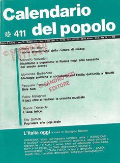 Calendario Del 1979.11 Interessanti Immagini Di Il Calendario Del Popolo 1979
