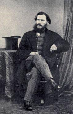 Count Leo Nikolayevich Tolstoy (1828 – 1910). Photo: 1860. #Leo_Tolstoy