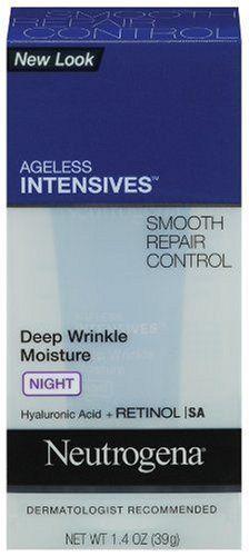 Neutrogena Ageless Intensives Deep Wrinkle Moisture, Night, 1.4 Ounce by Neutrogena, http://www.amazon.com/dp/B001OMI9AQ/ref=cm_sw_r_pi_dp_xk6Tqb1NRNNJN