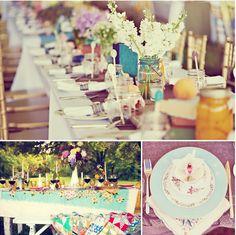 Pretty spring wedding ideas