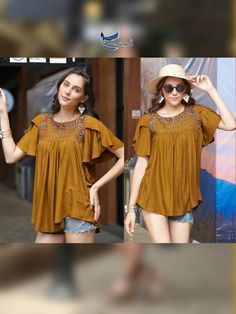 We are the manufacturer and exporter of indian ethnic wear. The one stop shop for wholesale purchasing. Western Tops, Fancy Tops, Kurti Collection, Fashion Catalogue, Matches Fashion, Western Dresses, Indian Ethnic Wear, Short Tops, How To Look Classy