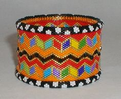 Step-by-step, fully illustrated, clear and concise instructions to create fabulous, original bead woven designs using seed beads. Beaded Bracelet Patterns, Jewelry Patterns, Beading Patterns, Beaded Bracelets, Seed Bead Jewelry, Beaded Jewelry, Jewellery, Bead Crochet, Beading Tutorials