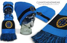 Another beanie and scarf combo created for Criagieburn City FC. Their supporters will be standing out this winter!