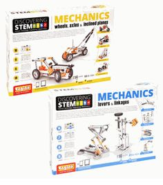 Let your future engineer explore with Mechanics Science Kit Set