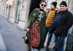Phil Oh's Best Street Style Pics From Milan's Fall 2017- Sherry Shen. Marni top and skirt. Loewe bag and charm