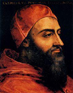 Papa Clemente VII, de Angolo Bronzino