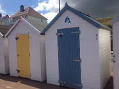 Preston near Paignton. Beach hut