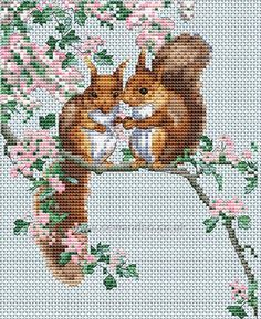 Buy+Squirrel's+Secrets+Cross+Stitch+Kit+Online+at+www.sewandso.co.uk
