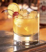 Classic Whiskey Sour... old school cocktail makes a comeback!
