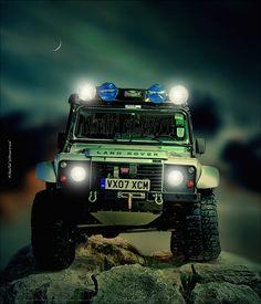 I want this  Land Rover / http://www.dancamacho.com/land-rover/