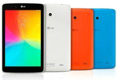 Se dieron a conocer las especificaciones de las LG G Pad 7, 8 y 10.1 pulgadas.