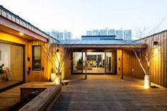 대전 하기동 단독주택: 비온후풍경 ㅣ J2H Architects의 주택