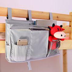 50x30cm Bedside Bag Oxford Cloth Bedroom StorageBag Sundries Arranged Sofa Bedding Accessory